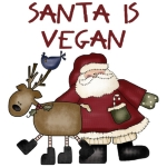 Santa is vegan!