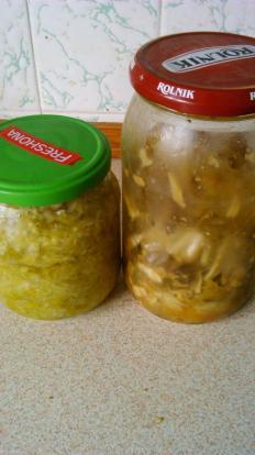 Our #sauerkraut and #kimchi